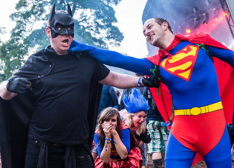 Batman vs Superman, Kendal Calling 2015
