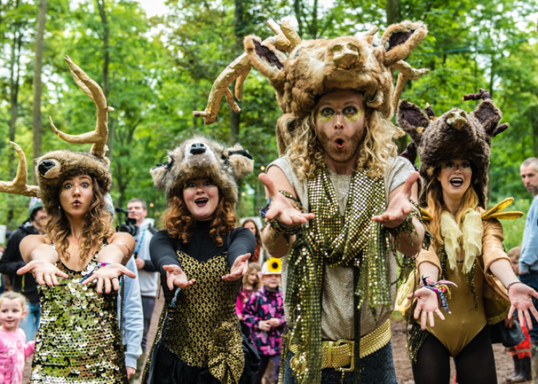 Chased by Deers, Kendal Calling 2015