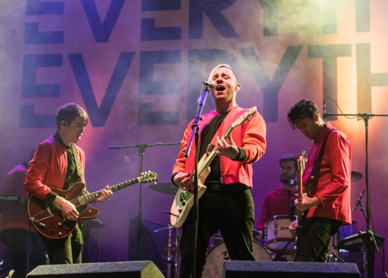 Everything Everything, Leeds Festival 2015