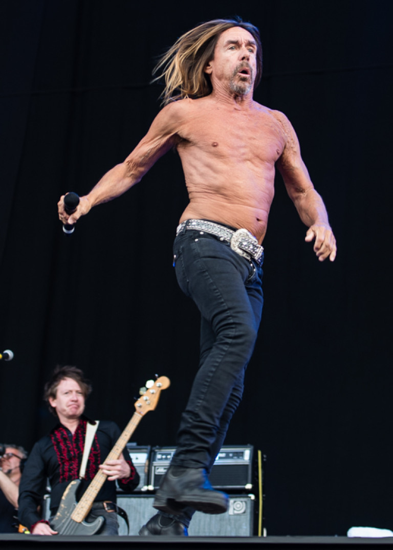 Iggy Pop – Isle of Wight Festival 2016
